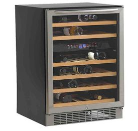 Enlarge Avanti WCR5450DZ 46 Bottle Built-In Dual Zone 46 Bottle Wine Cooler