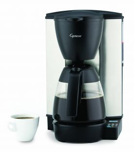 Enlarge Capresso 484.05 MG600 PLUS 10-Cup Programmable Coffee Maker Glass Carafe