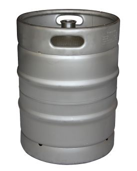 Enlarge Kegco 13.2 Gallon Commercial Keg with Threaded D System Sankey Valve - HS-EK-D50L