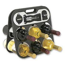Enlarge Metrokane The Wine Bar Wine Rack