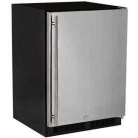 Enlarge Marvel ML24RFS2RB Built-In Refrigerator - Black Cabinet and Black Door