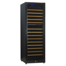 Enlarge N'Finity 170 Bottle Wine Cellar Refrigerator - Black Cabinet with Black Door - Door Hinge on Left