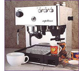Enlarge la Pavoni PA-1200 Napolitana 100 oz Capacity Espresso Machine
