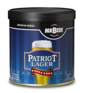 Enlarge Mr Beer Patriot American Lager Brew Pack