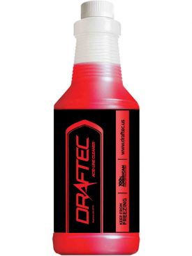 Enlarge Draftec Advanced Acid Line Cleaner Red Tracer 32 oz