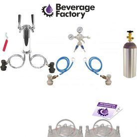 Enlarge Kegco Standard Homebrew 2 Faucet Draft Tower Conversion Kit