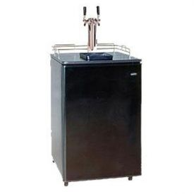 Enlarge Summit Kegerator SBC-500B-2 Dual Faucet Keg Beer Cooler