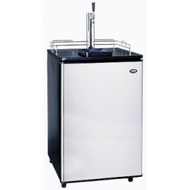 Enlarge Scratch and Dent - Sanyo Kegerator BC-1206S Full Size Keg Beer Cooler with Stainless Steel Door