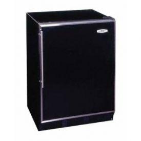Enlarge Summit ALB653B - Black / Stainless Steel Frame Door & Handle