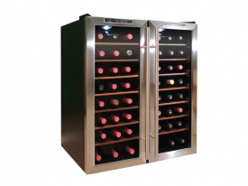 Enlarge Vinotemp VT-48TEDS-2Z 48-Bottle Dual Zone Thermoelectric Wine Cooler