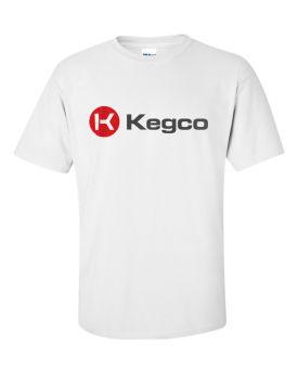 Enlarge Kegco Short Sleeve T-Shirt - White