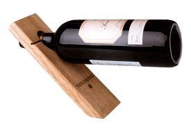 Enlarge Single Bottle Wood Stand