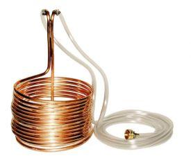 Enlarge Copper Immersion Wort Chiller 50′