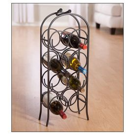 Enlarge Metal Wine Arch Bottle Rack