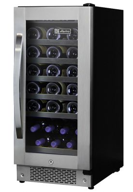 Enlarge Allavino AWR30-SRNC - 32 Bottle Built-in Wine Refrigerator - Curved Handle