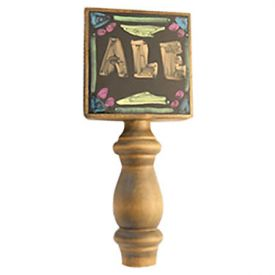 Enlarge Black Dry Erase Board Beer Tap Handle