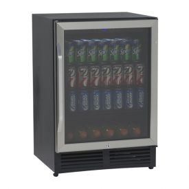 Enlarge Avanti BCA516SS 5.0 CF Beverage Cooler with Glass Door
