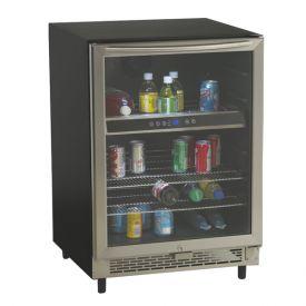 Enlarge Avanti BCA5448 - 5.1 Cu. Ft. Beverage Cooler - Black with Glass Door