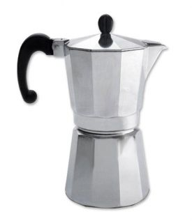 Enlarge Bonjour 53833 Cafe Milano Stove Top Espresso Maker - 9 Cup