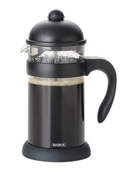 Enlarge BonJour 53906 8-Cup Hugo French Press w/ Unbreakable Carafe - Black