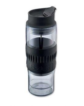 Enlarge Bodum 1421-10B TRAVEL PRESS Thermo Tumbler, 0.5 L.
