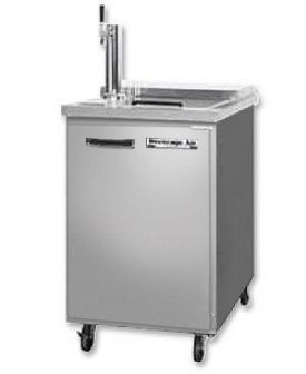 Enlarge Beverage-Air Kegerator BM23C-1-S Club Top Beer Cooler - All Stainless Steel