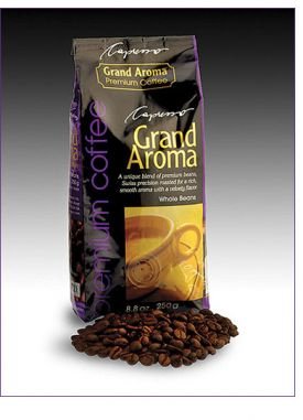 Enlarge Capresso Grand Aroma Whole Coffee Beans - Decaf (8.8 oz.)