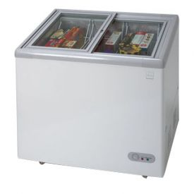 Enlarge Avanti CF211G - 7.4 CF Commercial Glass Top Chest Freezer - White