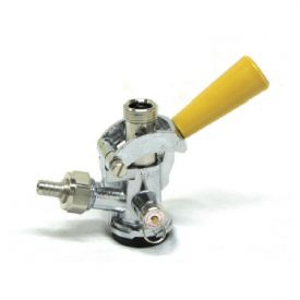 Enlarge CH5003 - D System Keg Coupler by Taprite - Gold Handle