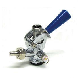 Enlarge CH5004SS - D System Keg Coupler Blue Handle with Stainless Steel Probe