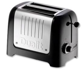 Enlarge Dualit 25375 Lite 2-Slice Commercial Toaster - Black