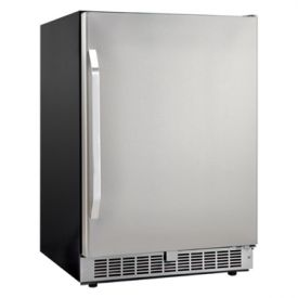 Enlarge Danby DAR154BLSST Silhouette 5.4 Cu Ft Built-in Refrigerator - Black Cabinet with Stainless Steel Door