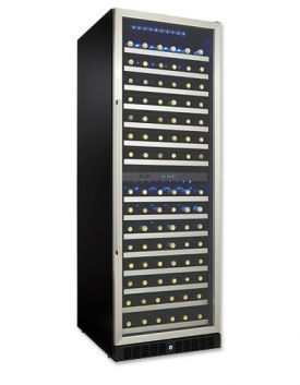Enlarge Danby Silhouette DWC166BLS 146-Bottle Built-in Wine Cellar
