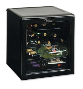 Enlarge Danby DWC172BL 17 Bottle Wine Cooler Refrigerator
