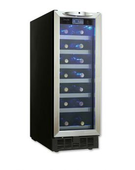 Enlarge Danby DWC276BLS 27 Bottle Wine Cooler - Stainless Steel Door