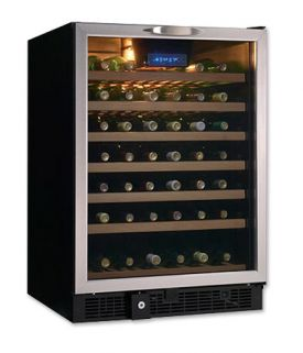 Enlarge Danby DWC512BLS-1 51 Bottle Built-in Wine Refrigerator w/ Stainless Steel Door