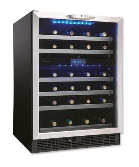 Enlarge Danby DWC518BLS 51-Bottle Built-in Wine Cooler