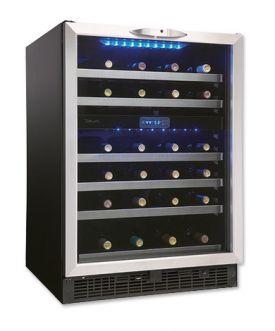 Enlarge Danby DWC518BLS 51-Bottle Built-in Wine Cooler