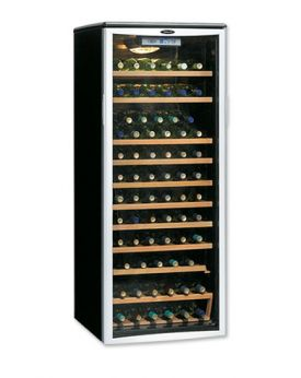 Enlarge Danby DWC612BLP 75 Bottle Wine Cooler w/ Platinum Door Trim