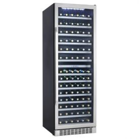Enlarge Open Box - Danby Silhouette DWC408BLSST 146-Bottle Built-in Wine Cellar