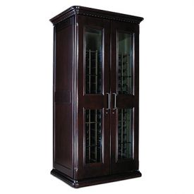 Enlarge Le Cache European Country Euro 2400 286-Bottle Wine Cellar - Chocolate Cherry Finish