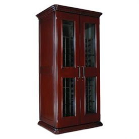 Enlarge Le Cache European Country Euro 2400 286-Bottle Wine Cellar - Classic Cherry Finish