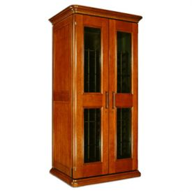 Enlarge Le Cache European Country Euro 2400 286-Bottle Wine Cellar - Provincial Cherry Finish