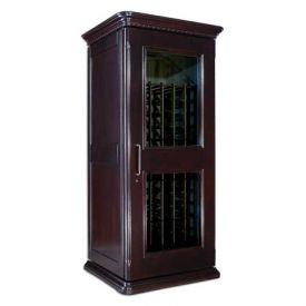Enlarge Le Cache European Country Euro 1400 172-Bottle Wine Cellar - Chocolate Cherry Finish