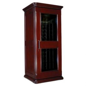 Enlarge Le Cache European Country Euro 1400 172-Bottle Wine Cellar - Classic Cherry Finish