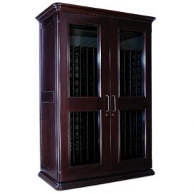 Enlarge Le Cache European Country Euro 3800 458-Bottle Wine Cellar - Chocolate Cherry Finish