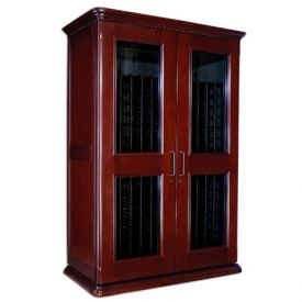 Enlarge Le Cache European Country Euro 3800 458-Bottle Wine Cellar - Classic Cherry Finish