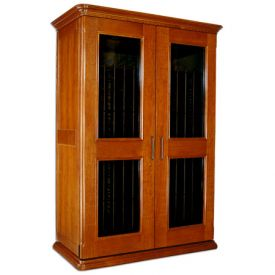 Enlarge Le Cache European Country Euro 3800 458-Bottle Wine Cellar - Provincial Cherry Finish