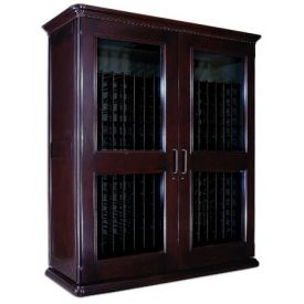 Enlarge Le Cache European Country Euro 5200 622-Bottle Wine Cellar - Chocolate Cherry Finish