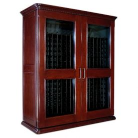 Enlarge Le Cache European Country Euro 5200 622-Bottle Wine Cellar - Classic Cherry Finish